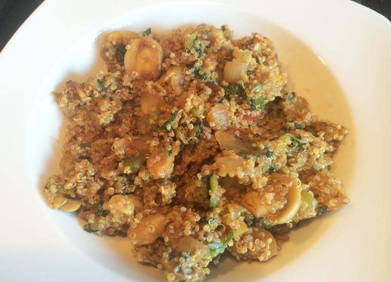 C mo cocinar la quinoa receta con verduras y curry for Cocinar quinoa al vapor