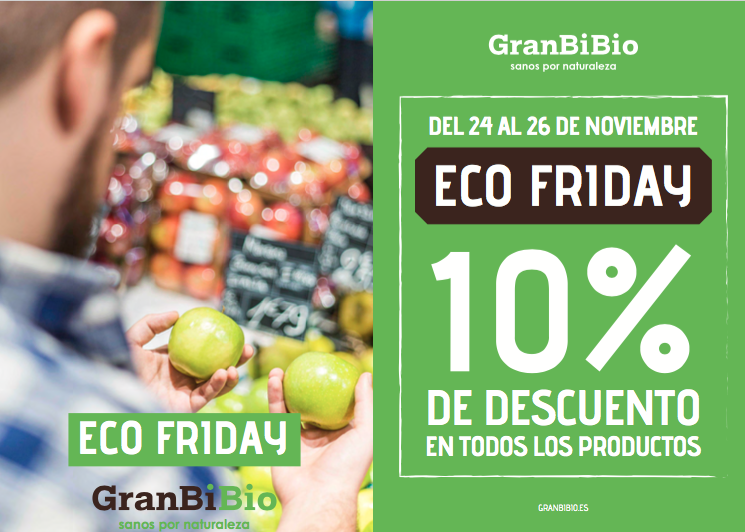 Eco Friday, ofertas ecológicas