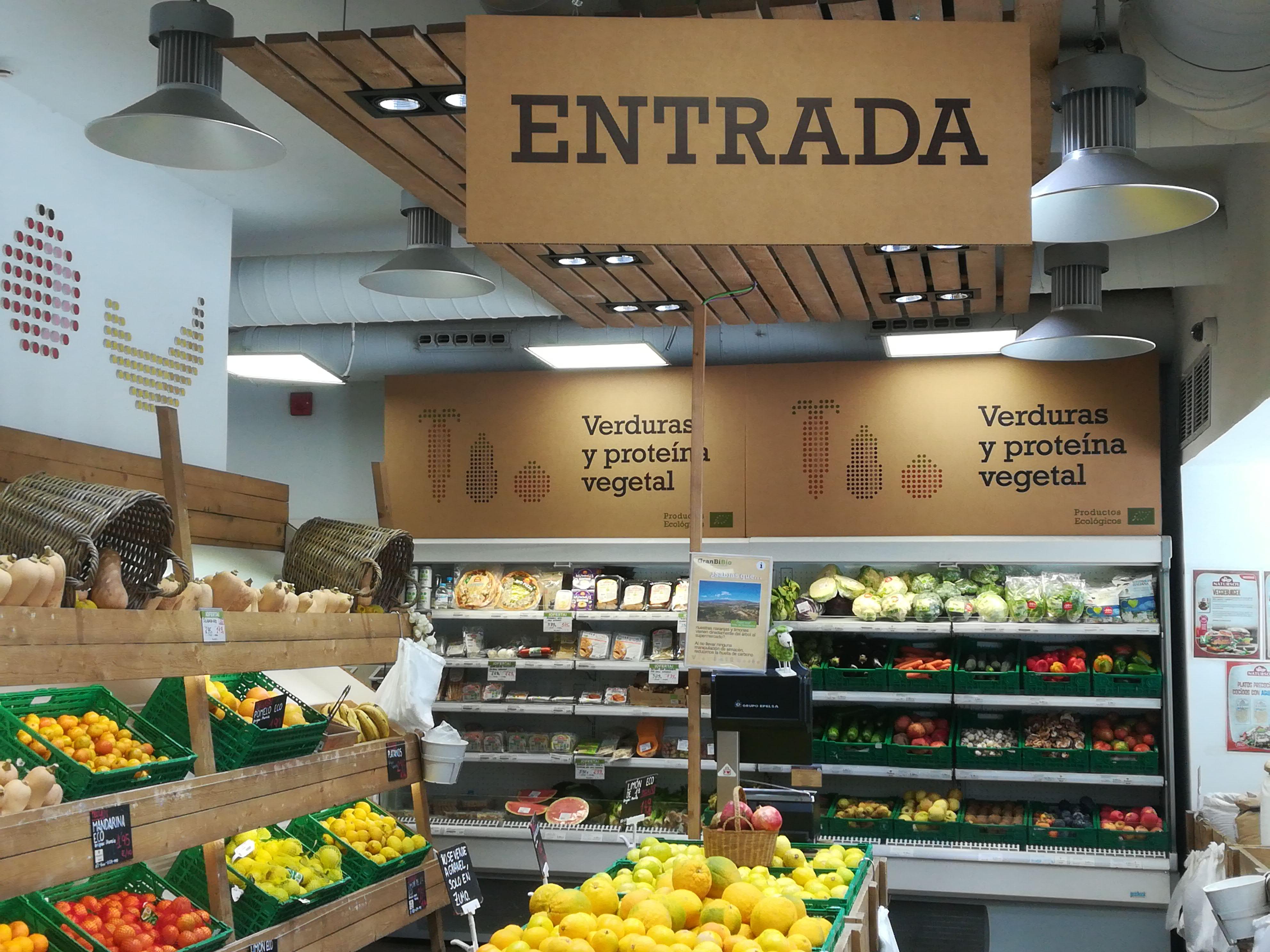 supermercados ecológicos, Granbibio, Madrid