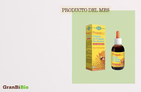 GranBiBio, Propolaid, complemento alimenticio, resfriado