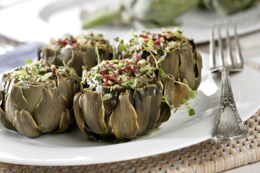 recetas de invierno: recetas con alcachofas