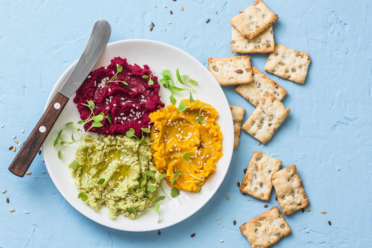 recetas para pícnic: hummus