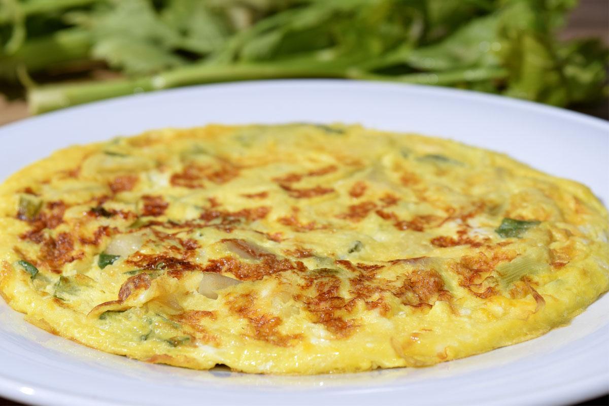 recetas para pícnic: tortilla de calabacín