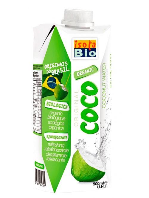 AGUA DE COCO. 500ML. Q BIO