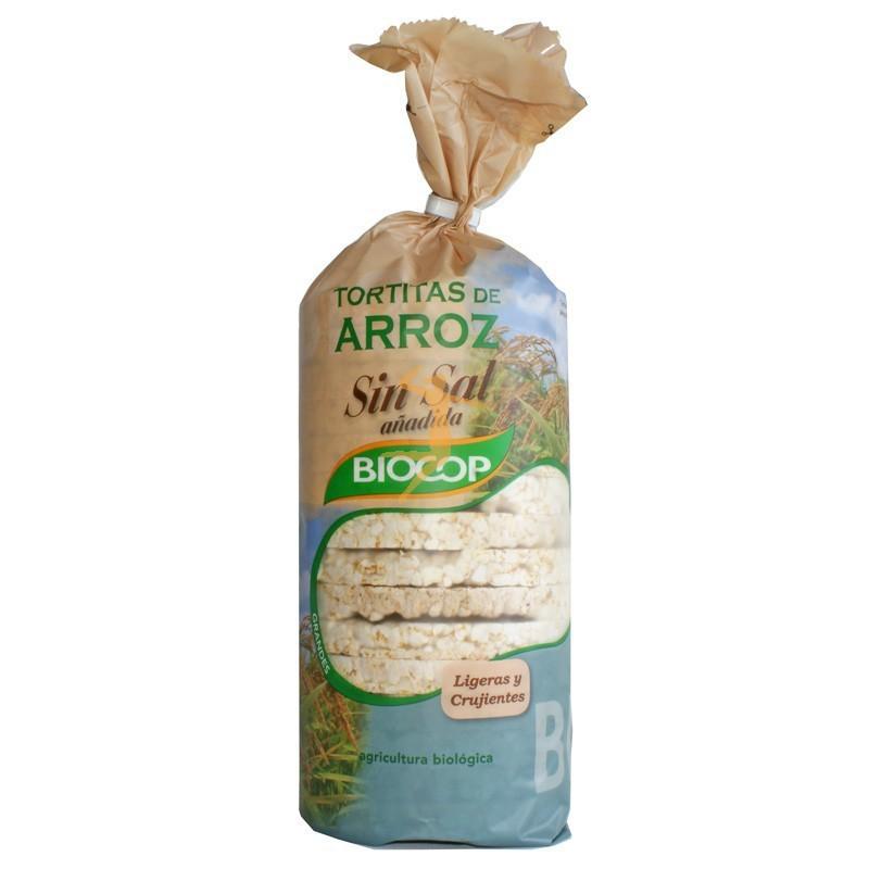 TORTITAS ARROZ SIN SAL 200GR - BIOCOP