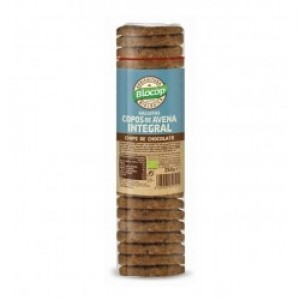 GALLETAS COPOS AVENA CHIPS DE CHOCOLATE ECO  250GR BIOCOP